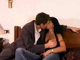 Italian Gloominess MILF Fucked by Young Boy
