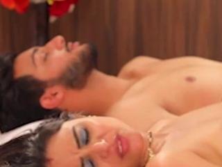Indian Bhabhi Seducing Husband's Side and Shagging Him
