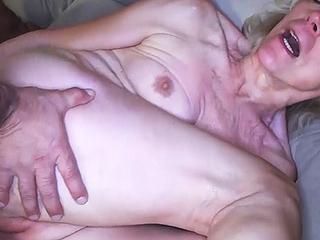 82 years old grandma needs hard cock