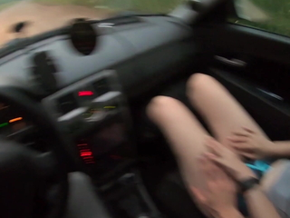 Young hitchhiker girl fucks a stranger for a unconforming ride!