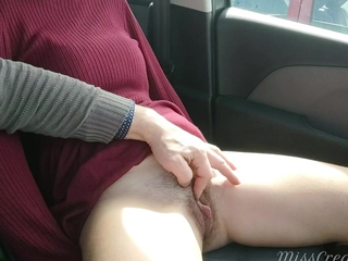Student fingered teacher's pussy overhead our way home from school