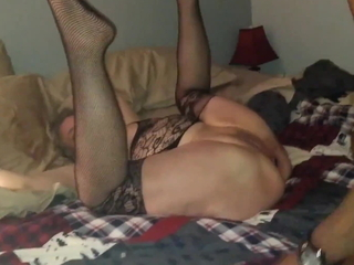 MILF Become man gets stretched away from deep BBC Bareback sex To hotel