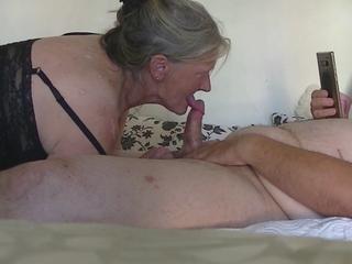 Danish Granni gives me a wonderful at the maximum
