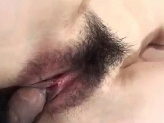 Hiromi devours cock before getting fucked hard