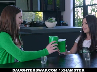 Little Sluts Cielo West With an increment of Kourtney Rae Dare Every time Other