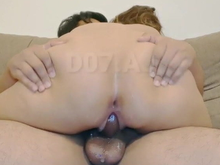 Malay FWB Ride For Double Creampies. Messy dribble pussy