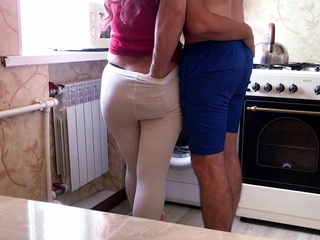 Mom's sweet ass beckons her stepson be useful to sex.