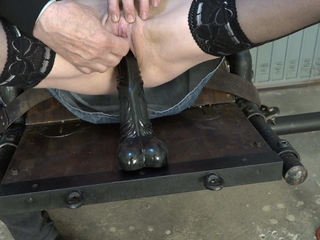Dildo fuck added to fisting