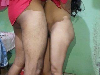 Romance with a hot Indian Bengali girl with a sexy figure