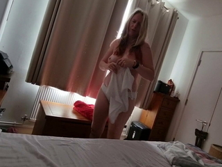 Mom sneaks into step sons bedroom for morning sex