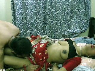 Indian Sexy Bhabhi first time sex with tramontane bloke