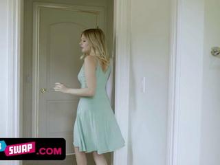 Substandard Teen Girlfriends Decide To Bang Their Horny Stepdads