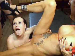 CREAMPIE SWALLOW GANGBANG WITH GERMAN MILF SIDNEY Deathly