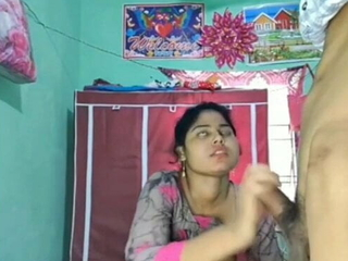 Desi widely applicable – Blowjob and sex with boyfriend