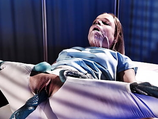 Real Life Hentai - Peaches Teen got fucked coupled with Creampied wide of Aliens in Hospital