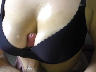POV Hot Titfuck StepSister - Amateur Teen Big Tits