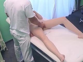 Fake Doctor Fucks her  18 Teen Patient