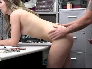 Naughty Teen Steals Jewelry Immigrant Store Gets Caught And Fucked