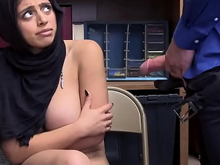 Hot Muslim Teen Blackmailed and Fucked For Shoplifting
