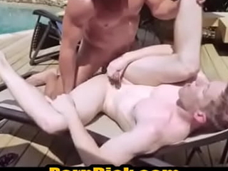 Perp barebacked poolside off out of one's mind a hung cop-PerpDick xxx movie