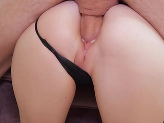 Tow-headed Step Daughter Fucked with an increment of Creampied