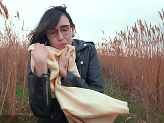 I'm Cold, Warm Me added to Cum on Pussy - Public Agent PickUp Russian Student to Outdoor Real Fuck