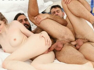 Strengthen Finds Nude Man In Rental Home, Seduce Him To Bi Threesome