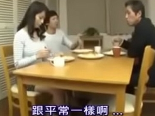 Japanese Asian Mom Cheating back her Young Son