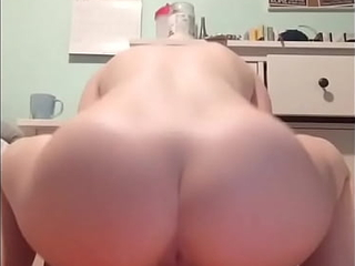 Big Ass Babe Downward Gaping void beyond a Charger Dildo