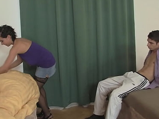 Panhandler fucks young brothers spliced