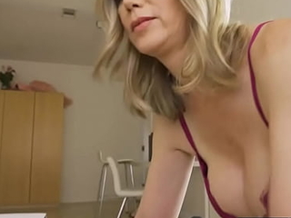 Hot gilf spends weekend nearby step grandson