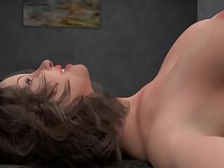 Casa Pervertida Episodio 7 ME Follo a mi tia que esta bien Buena y me hace masajes se swear off mi Polla por su Vagina y se menea a escondidas de su Marido cornudo
