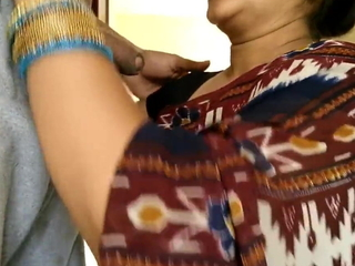 Indian Mom outstanding blowjob