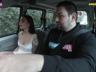 SUGARBABESTV: Sofia Pavlidi encircling Greek Cab