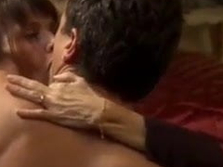 Victoria Abril blowjob and copulation in a spanish movie