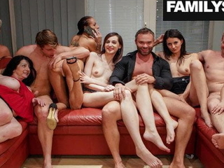 Vacuous duff Cum between a Family