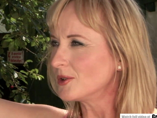 MILF enjoys obese dick wide the come together