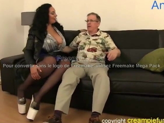 Very tall thick milf fucked