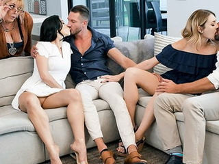 TeamSkeet - Daughters Swapping and Shacking up Dads Compilation