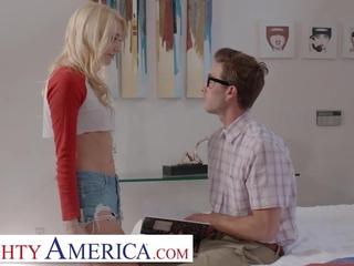 Naughty America - Kenna James fucks her friend's brother