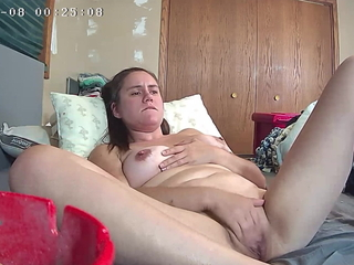 Lord it over Teen Caught Fingering Herself Live on Skype Hidden Cam