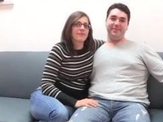 A married couple's first threesome! They sturdiness fuck Siona, too