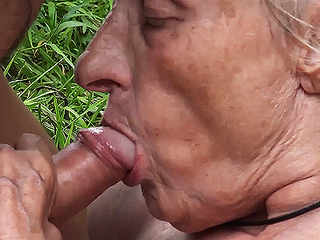 ugly 86 year old mom banged beside overturn