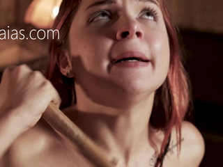 Slutty Russian girl tortured be required of her sins