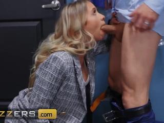 Hot Blonde Secretary Khloe Kapri Pounded Hard By The brush Boss