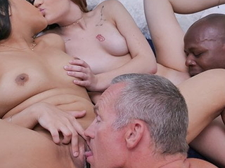 DaughterSwap - Teens Get Punished And Swapped By Pissed Dad