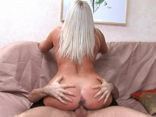 Gorgeous Russian mommy Elena loves coitus with young guys