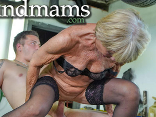 Granny wants me all over amend her fustigate pussy