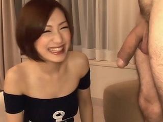Subtitles - Japanese coddle Nene Iino suck dick