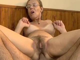 Nerd Ugly Granny Anal